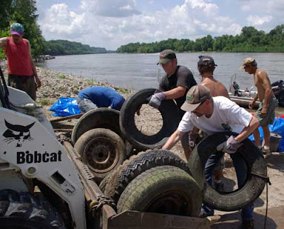 More than 300 Tons of Trash Removed