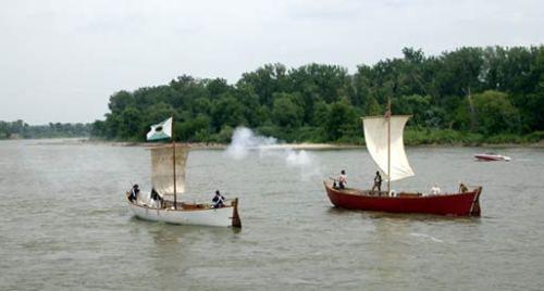 200th Anniversary of Lewis and Clark Corps of Discovery Reenactment